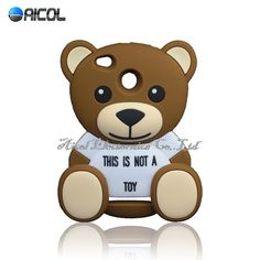2016 New 3D Cute Teddy Bear Silicone Case For Xiaomi Red Rice 3 Redmi 3S Red Rice 3 Pro Hongmi 3 Pro Cover Soft Phone Case