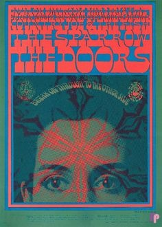 The Doors, Sparrow and Country Joe & the Fish at Avalon Ballroom 3/3-4/67 by Victor Moscoso