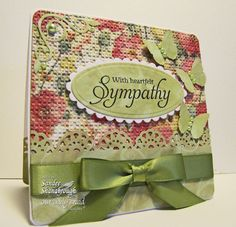 Simply Southern Sandee: Sympathy and Strength