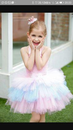 Girls Party Wear, Girls Wear, Girls Tutu Dresses, Flower Girl Dresses, Dress Online, Ruffles, Barbie, India, Wedding Dresses