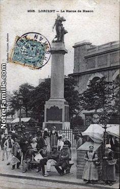 Statue de Bisson, Lorient