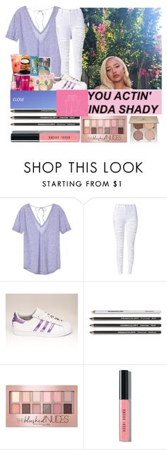 """3:52PM"" by mazzyfaye ❤ liked on Polyvore featuring Victoria's Secret, Maybelline, Bobbi Brown Cosmetics and Anastasia Beverly Hills"