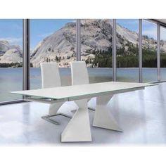 Preciosa mesa comedor extensible de diseño vanguardista y innovador ...