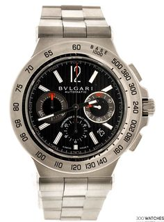 Bvlgari Diagono DP42SCH Pro Terra Automatic Chronograph Watch | 300watches