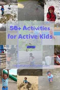 Active Kid Active Life - Tadpoles and Mud Puddles Outdoor Activities For Kids, Free Activities, Infant Activities, Summer Activities, Family Activities, Learning Activities, Kids Learning, Water Balloon Fight, Thing 1