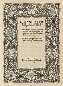 Jean Fernel - Wikipedia, the free encyclopedia
