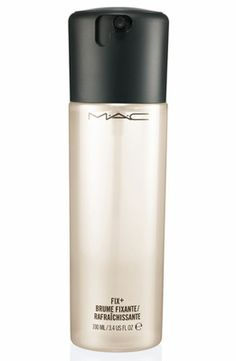 The amazing fix+ by MAC! I love this product sooo much, I seriously can't live without it! It can do so many different thing for your face and makeup, and it works simply fantastic!  I can only suggest all of you to buy it :)