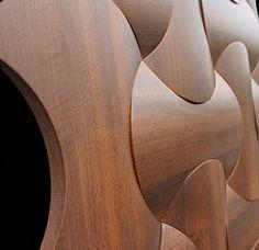 Interlam introducing Art Diffusion: Labrys at NeoCon 3d Wall Panels, Glass Panels, Tea Table Design, Cnc, Front Door Design Wood, 3d Wall Tiles, 3d Wall Decor, Laminated Glass, Decorative Wall Panels