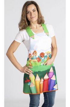 Teacher Apron, Easy Face Masks, Sewing Aprons, Pregnancy Outfits, Work Attire, Blouse, Couture, Sewing Projects, My Style