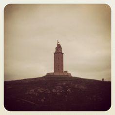 Torre de Hércules ( A Coruña ) Spain