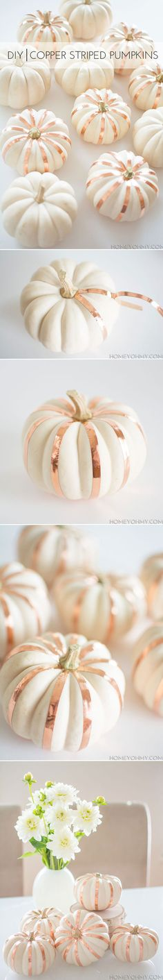 10 DIY Halloween Wedding Decoration Ideas with Pumpkins | http://www.tulleandchantilly.com/blog/10-diy-halloween-wedding-decoration-ideas-with-pumpkins/