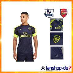 Neueste Arsenal Third Trikot Blau 2016 2017 Fan Shop Kaufen 4c16416f1