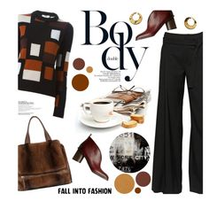Go to work by magdafunk on Polyvore featuring polyvore fashion style Fendi A.F. Vandevorst Anastasia Beverly Hills The Artwork Factory Givenchy