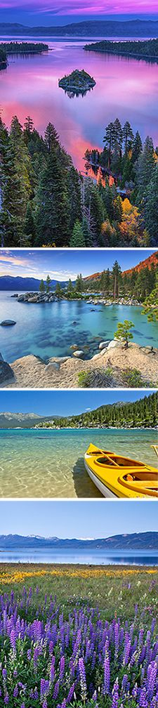 Lake Tahoe - The best place to spend your next vacation enjoying the great outdoors. Come see what all the fuss is about.