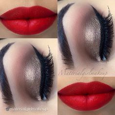 Motives mineral gel eyeliner in LITTLE BLACK DRESS Kiss Makeup, Glam Makeup, Love Makeup, Makeup Inspo, Makeup Inspiration, Beauty Makeup, Makeup Looks, Hair Makeup, Makeup Eyes