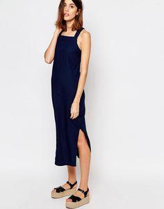 Image 4 ofWarehouse Column Pinny Dress