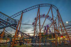 #Prater #RollerCoaster #FerrisWheel #AmusementPark #payerfotografie