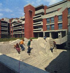 fuckyeahbrutalism: Housing, West Munich, Germany, 1971 (Kurt...