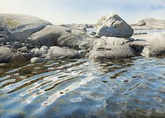 Realistic Water color painting : Stanislaw Zoladz