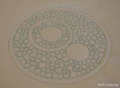 Crop Circle Quilt - WIP   by QOB