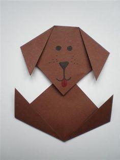 Knutselen hond 1