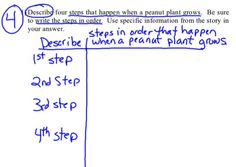 Helping students to learn the steps to strategically answer open-response questions.