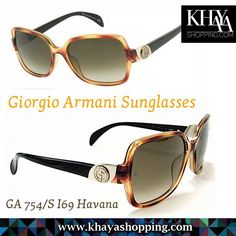 The Giorgio Armani Sunglasses line includes an array of metal and plastic frames all on lightweight and durable frames. Giorgio Armani Sunglasses combine high-end fashion and craftsmanship. Giorgio Armani Eyewear and Sunglasses suited for everybody, and offer out standing designs, all with 100% UV protection.  Available at www.khayashopping.com  #GiorgioArmani #Sunglasses #Harare
