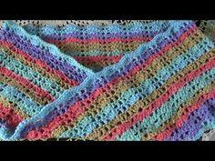 Haken - tutorial #452:  De Blije Col Blanket, Crochet, Youtube, Crochet Hooks, Blankets, Crocheting, Carpet, Thread Crochet, Hooks
