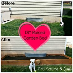 DIY Raised Garden Bed - Fry Sauce and Grits