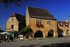 Domme in der Dordogne, Foto © Jochen Jahnke Lizenz GNU