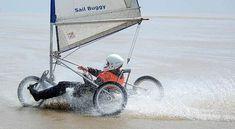 Land Yachting -  Sail buggy