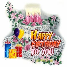 Happy Birthday Cake Happy Birthday Animated Cards To Send To Your Friends Happy Birthday Cake Happy Birthday Quotes For Her, Happy Birthday Wishes For A Friend, Birthday Wishes Quotes, Happy Birthday Sister, Happy Birthday Messages, Happy Birthday Funny, Birthday Greetings, Birthday Stuff, Birthday Cards