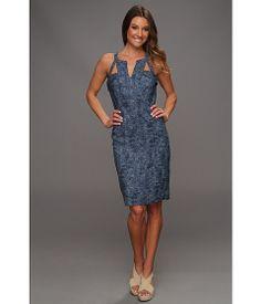 BCBGMAXAZRIA Macie Cutout Sheath Dress
