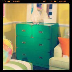 Kelly green dresser, Lilly Pulitzer #HPMKT
