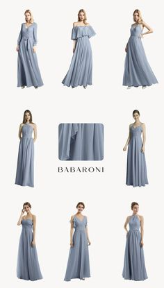 Weekly updated code. Shop with the code ROBE to save 10%. Come and visit babaroni.com, choose from 66+ colors & 500+ styles. #bridesmaiddresses #babaroni #weddinginspiration #beachwedding #weddingdress #weddingflower #weddingshoes #shoes #promdress #promgown #wedding#babaroni #weddingideas #babaroni #bridesmaiddress #2021wedding #weddinginspiration #bridesmaid #brides Dusty Blue Bridesmaid Dresses, Prom Dresses, Wedding Dresses, Chiffon Rock Lang, Maxi Robes, Chiffon Gown, Elegant Dresses, Dress Collection, Wedding Inspiration
