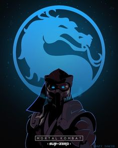 Mortal Kombat Sub-Zero By kzsakib Mortal Kombat Video Game, Mortal Kombat Games, Mortal Kombat Art, Sub Zero Mortal Kombat, Skorpion Mortal Kombat, Liu Kang And Kitana, Mortal Kombat X Wallpapers, Zero Wallpaper, Noob Saibot