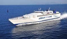 Aegean Speedlines sails to Sikinos and Folegandros