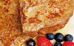 """Holiday Vegan French Toast made with """"Coconut Nog"""""""