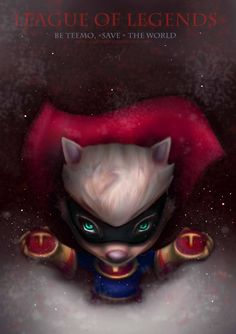 League of Legends. Super Teemo. by Darynian