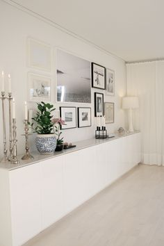 Ikea Inexpensive Kitchen Cabinets With New Top // Studio Karin:  MÄKLARFOTOGRAFERING HOS MIG. Living Room Wall DecorDining ...