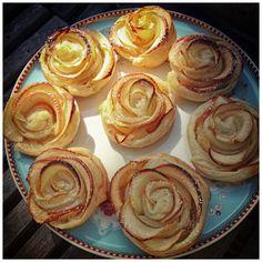 Apple-Roses Tart