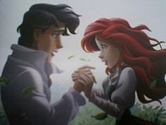 Ariel and her prince - Little Mermaid