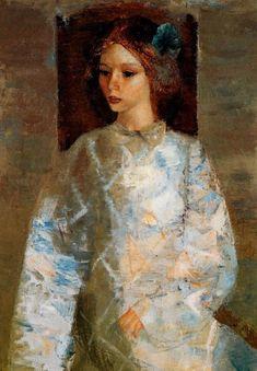 ზურაბ ნიჟარაძე – Zurab Nijaradze (1928) ანა ნიჟარაძის პორტრეტი