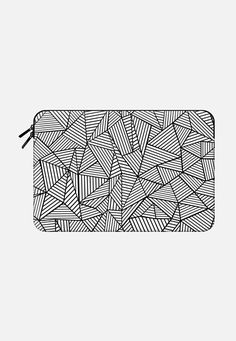 Abstraction lines 2 Macbook Macbook 12 sleeve by Project M   Casetify
