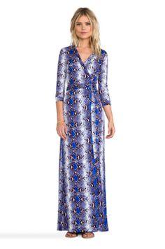 c686a95842 Diane von Furstenberg Abigail Dress in Python Medium Blue from  REVOLVEclothing