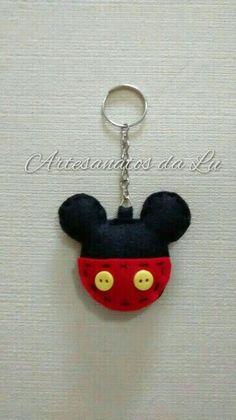 Chaveiro Cabeca Mickey