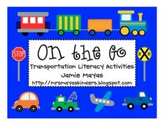 If you are in need of some cute and fun literacy centers for transportation then this unit is for you?!  In this unit you will get activities c...