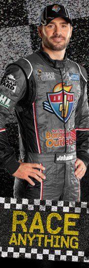 The man! NASCAR's Superman