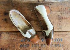 vintage 60s shoes size 7 // by LeMollusque, $42.00