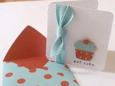 Adorable mini birthday card